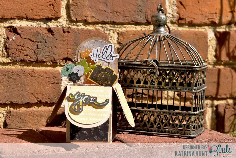 Hello You Box Card by Katrina Hunt