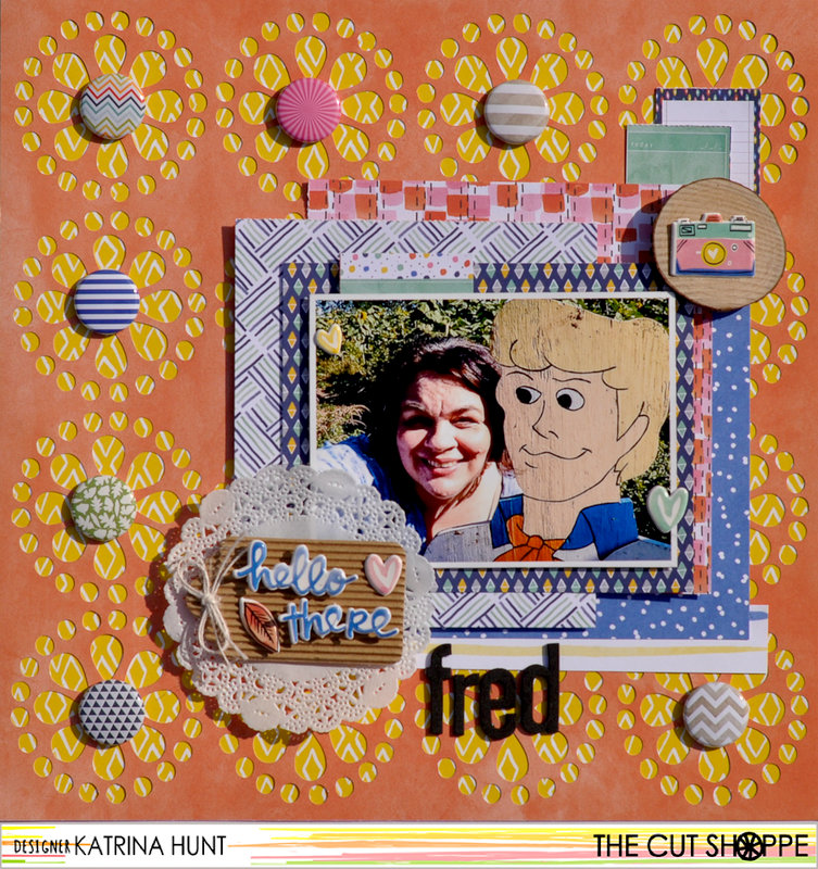 Hello There Fred-The Cut Shoppe/American Crafts