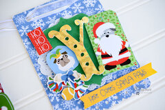 JOY Christmas Banner With PhotoPlay Paper