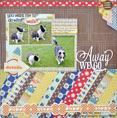 Away We Go *Lily Bee Design Guest