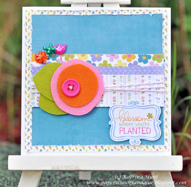 Blossom Card-Little Yellow Bicycle