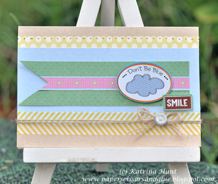 Don't Be Blue Smile-Nikki Sivils, Scrapbooker