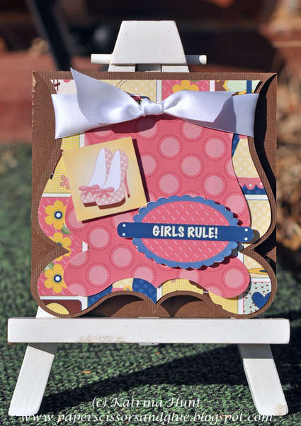Girl Rule Card Nikki Sivils Scrapbooker
