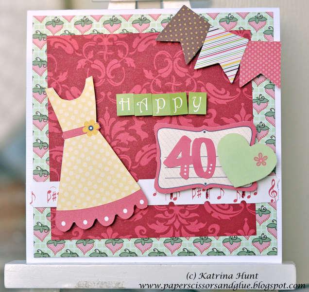 Happy 40-Nikki Sivils, Scrapbooker
