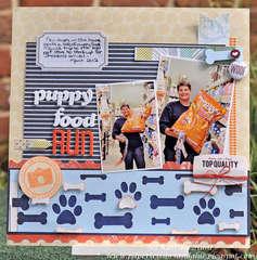 Puppy Food Run-Cocoa Daisy