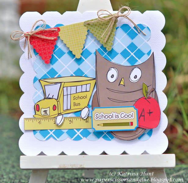 School is Cool Card-Nikki Sivils, Scrapbooker