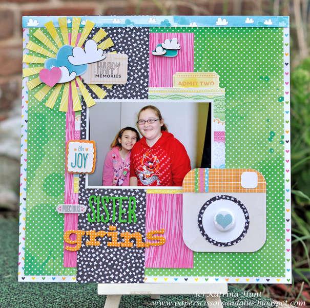Sister Grins-Amy Tangerine Sketchbook