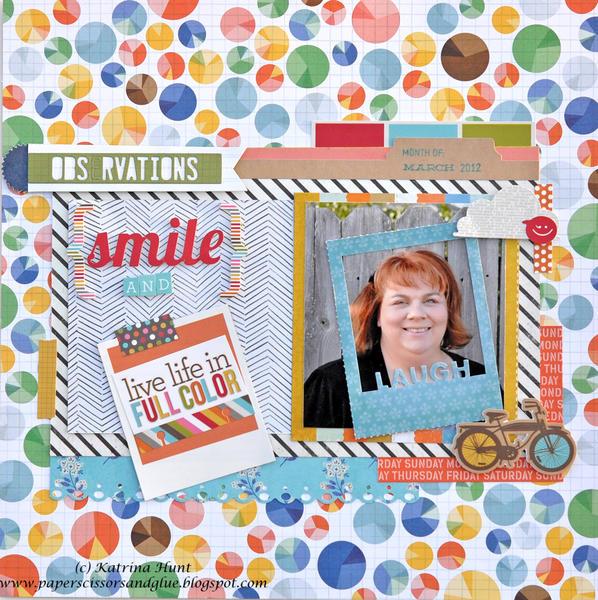 Smile and Live Life-Gossamer Blue Dec. Kit