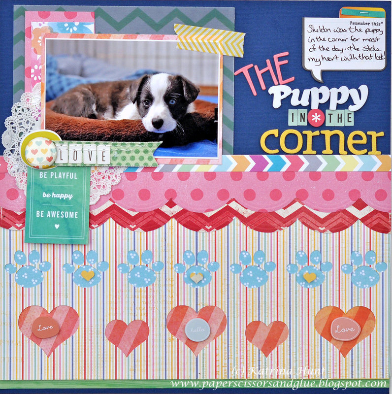 The Puppy in the Corner by Katrina Hunt