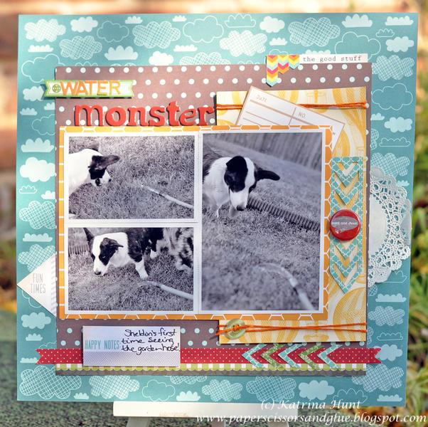 Water Monster-Gossamer Blue Oct. Kit