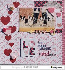 Love Is A Four Legged Word-Katrina Hunt