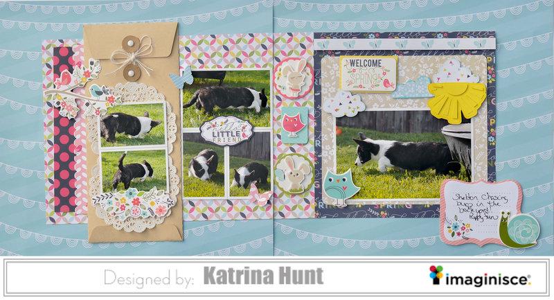 Welcome Spring-Katrina Hunt-Imaginisce DT