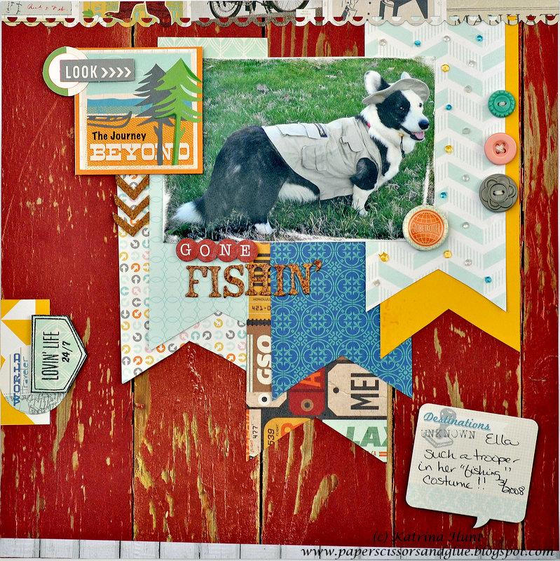 Gone Fishin' by Katrina Hunt