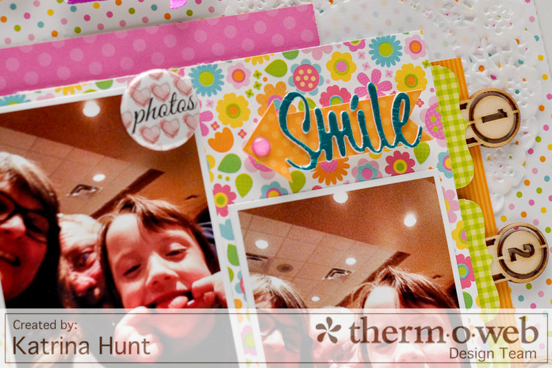 Silly Selfies-ThermOWeb and Doodlebug Design