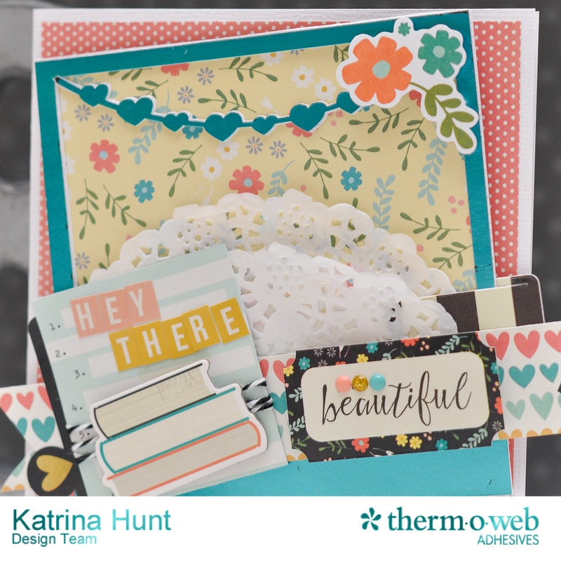 Hey There Beautiful-ThermOWeb and Simple Stories