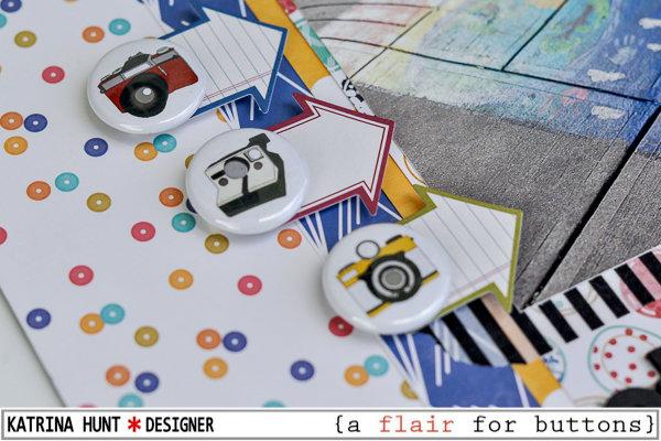 Storm Drain Art-Jillibean Soup and a flair for buttons