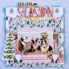 Tis The Season -Scrapbook.com Exclusive Cut File