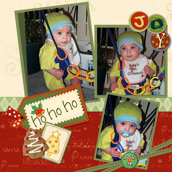 HO HO HO...  Babies First Christmas