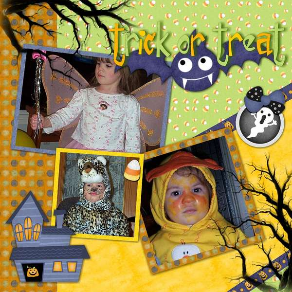 Trick or Treat younger years