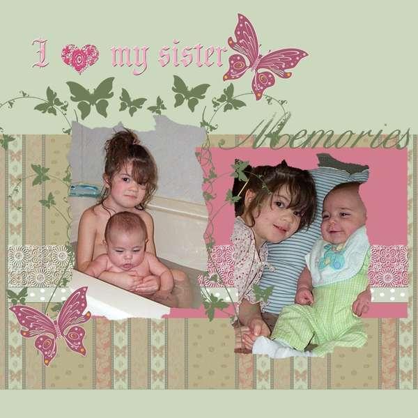 I love my SisTeR...  Memories