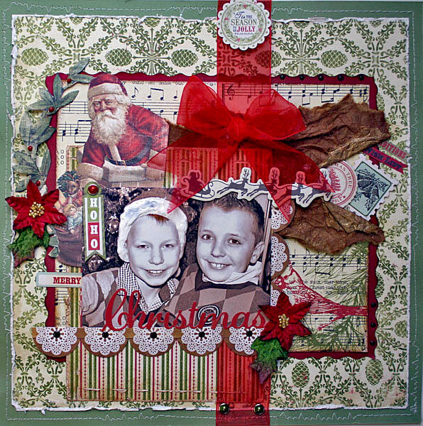 HOHO Merry Christmas ** MY CREATIVE SCRAPBOOK**