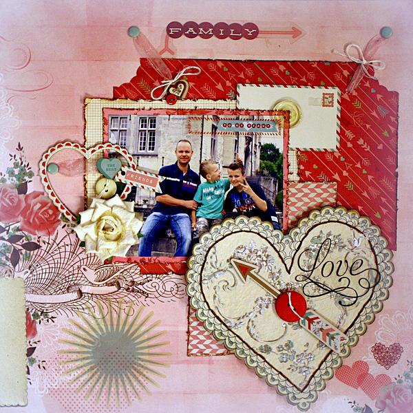 Family Love ** My Creative Scrapbook**