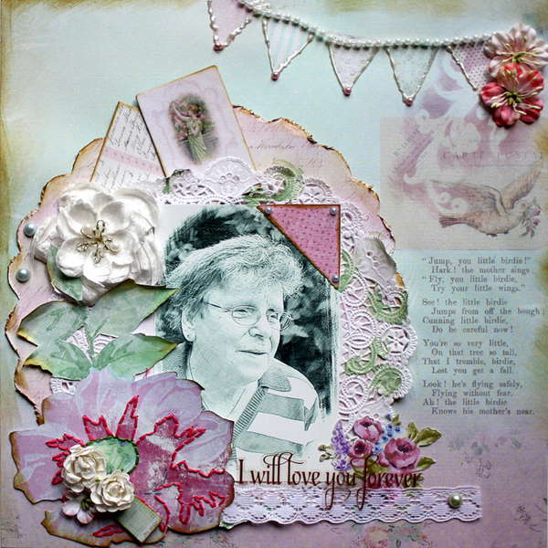 I Will Love you Forever * My Creative Scrapbook August Kit*