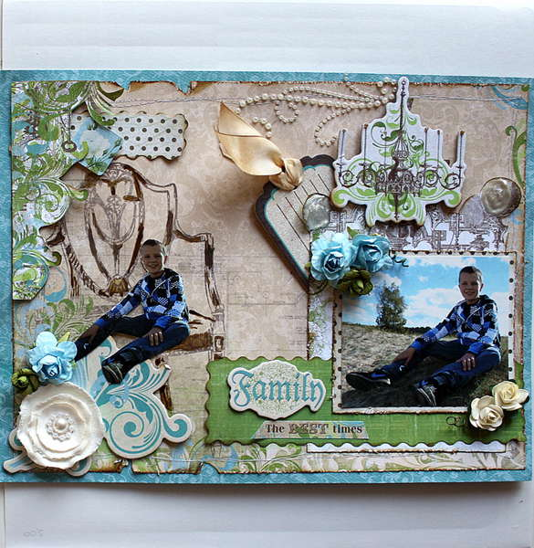 Family The best things ** My Creative scrapbook**