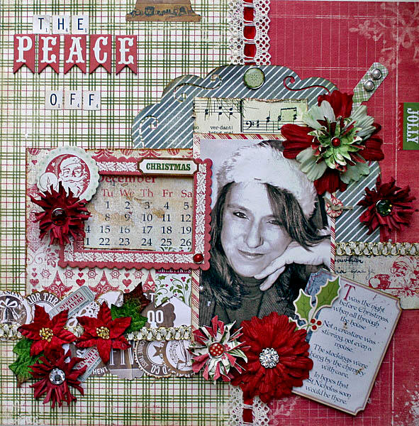 The peace off christmas ** my creative scrapbook**
