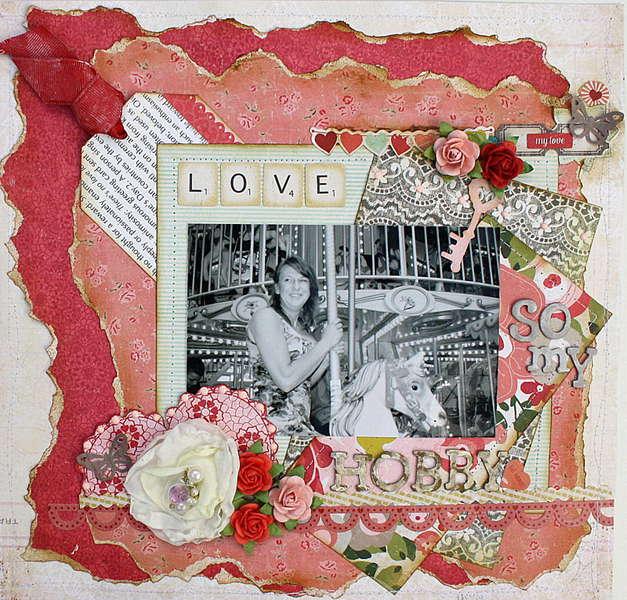 LOVE So My HobbY  **DT MY CREATIVE SCRAPBOOK **