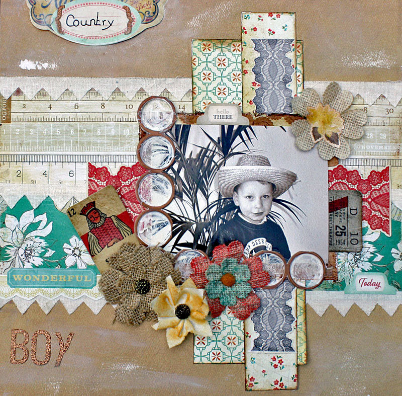 Country Boy **DT My CREATIVE SCRAPBOOK**