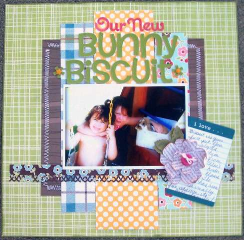 Our New Bunny * A Million Memories Oct Kit