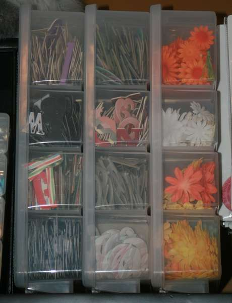 Letter and Flower Storage