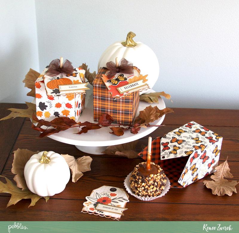 Caramel Apples Quick Gift *Pebbles*