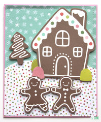 Gingerbread Christmas *Pebbles*