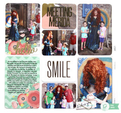 Project Life Disney Album - Meeting Merida