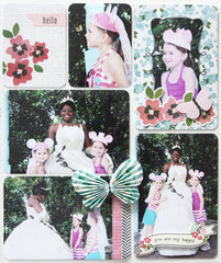 Project Life Disney Album - Meeting Tiana
