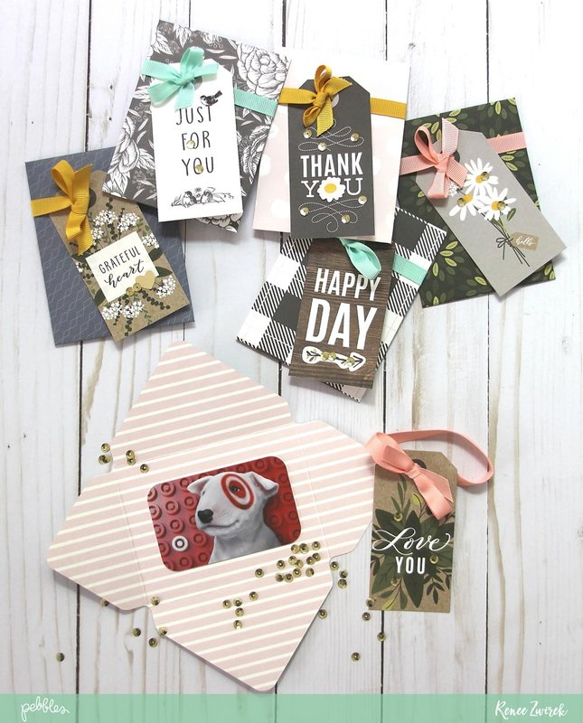 Quick Gift Card Holders *Pebbles*