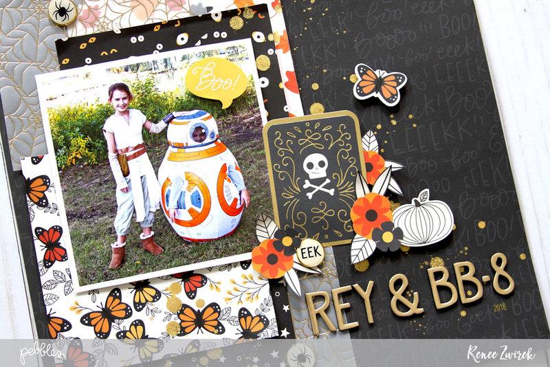 Rey & BB-8 *Pebbles*