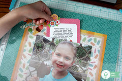 Project Life Disney Album - Sweet Treat layout with a Pocket Page *Pebbles*