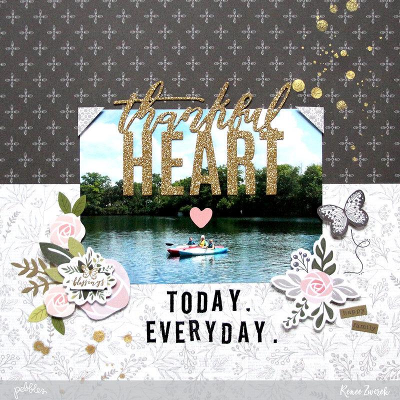 Thankful Heart *Pebbles*