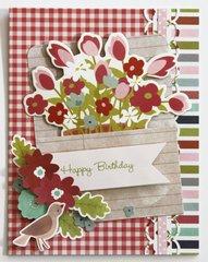 Happy Birthday Flowers *Pebbles*
