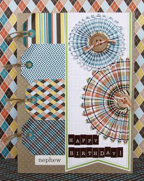 Happy Birthday, Nephew! Card *Pretty Little Studio*