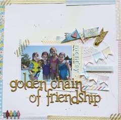 Golden Chain of Friendship *Pretty Little Studio*