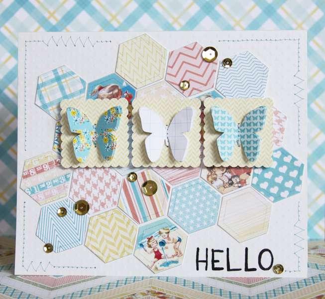 Hello. Card *Pretty Little Studio*