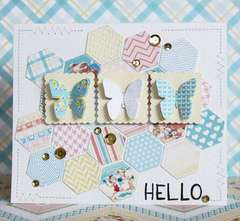Hello. Card *Pretty Little Studio*