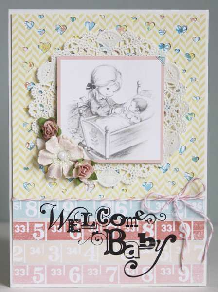 Welcome Baby *Pretty Little Studio*
