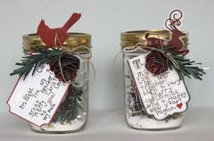 Holiday Gift Card Jars *Once Upon a Christmas - LYB*