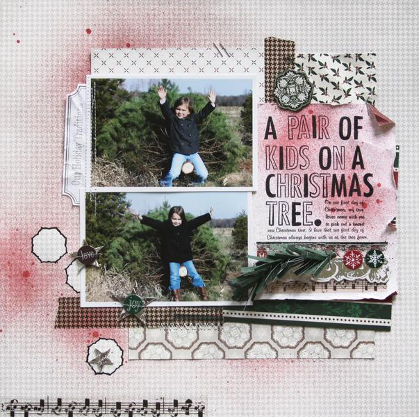 A Pair of Kids on a Christmas Tree. *Once Upon a Christmas - LYB*