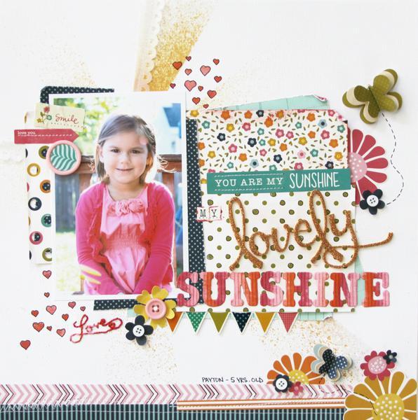 My Lovely Sunshine *Pebbles*